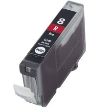 CLI-8R Ink Cartridge - Canon Compatible (Red)