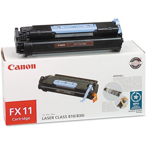 FX-11 Toner Cartridge - Canon Genuine OEM (Black)