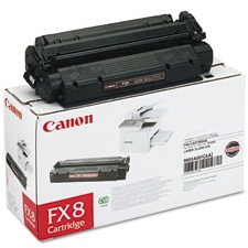 FX-8 Toner Cartridge - Canon Genuine OEM (Black)