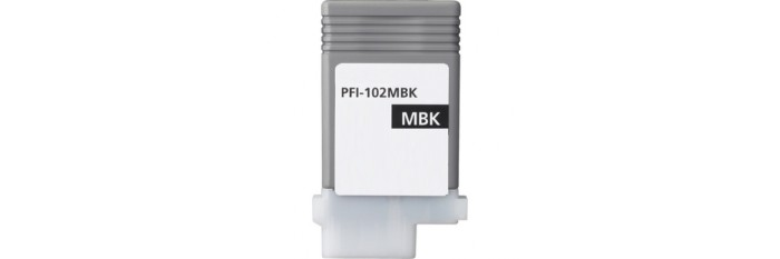 PFI-102MBk Ink Cartridge - Canon Compatible (Matte Black)