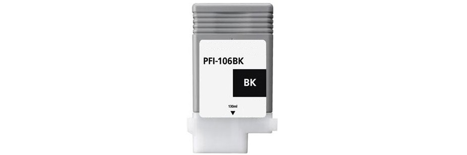 PFI-106BK Ink Cartridge - Canon Compatible (Black)