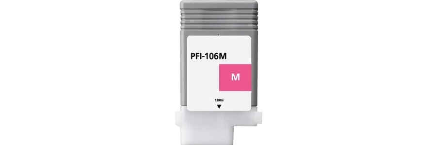 PFI-106M Ink Cartridge - Canon Compatible (Magenta)
