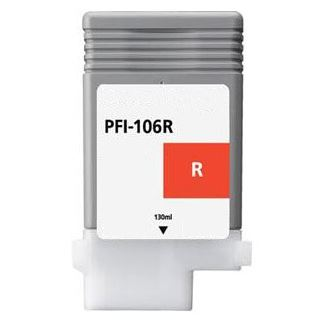 PFI-106R Ink Cartridge - Canon Compatible (Red)
