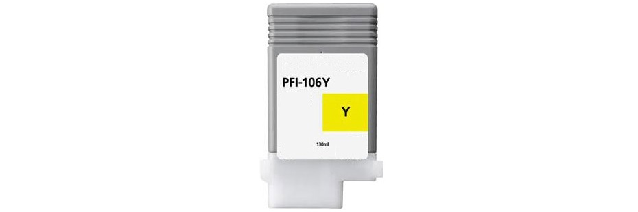 PFI-106Y Ink Cartridge - Canon Compatible (Yellow)