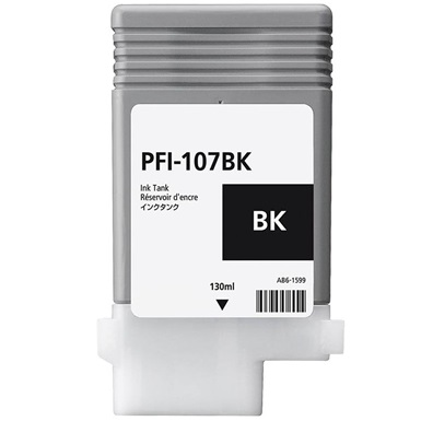 PFI-107BK Ink Cartridge - Canon Compatible (Black)
