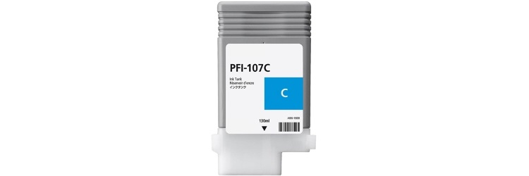 PFI-107C Ink Cartridge - Canon Compatible (Cyan)