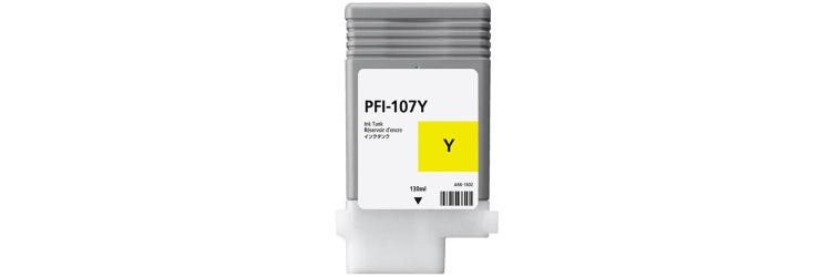 PFI-107Y Ink Cartridge - Canon Compatible (Yellow)