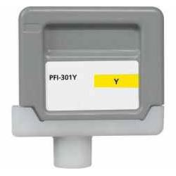PFI-301Y Ink Cartridge - Canon Compatible (Yellow)