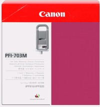 PFI-703M Ink Cartridge - Canon Genuine OEM (Magenta)