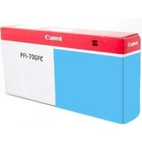 PFI-706PC Ink Cartridge - Canon Genuine OEM (Photo Cyan)