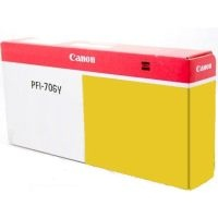 PFI-706Y Ink Cartridge - Canon Genuine OEM (Yellow)
