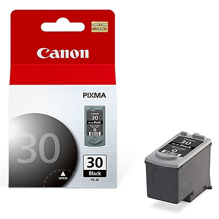PG-30 Ink Cartridge - Canon Genuine OEM (Black)