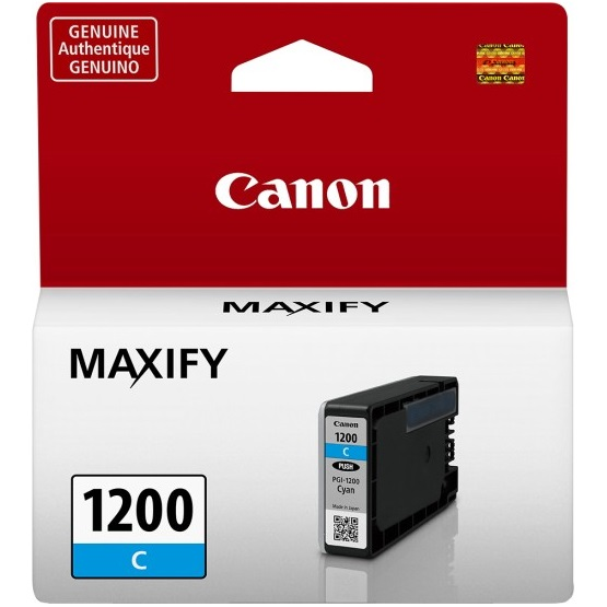 PGI-1200C Ink Cartridge - Canon Genuine OEM (Cyan)