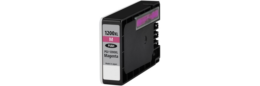 PGI-1200M XL Ink Cartridge - Canon Compatible (Magenta)