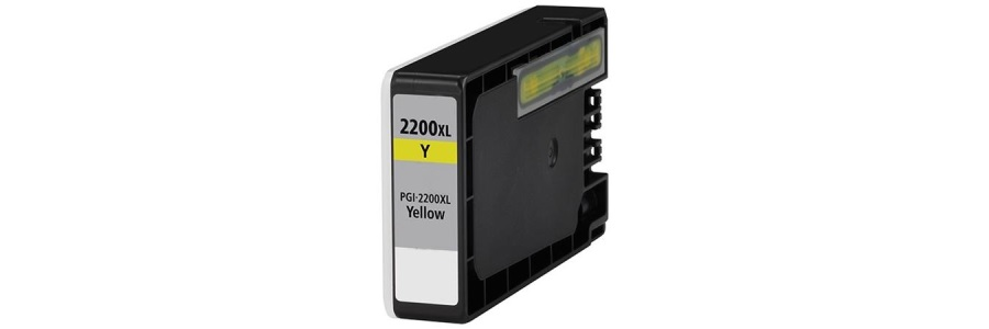 PGI-2200Y XL Ink Cartridge - Canon Compatible (Yellow)