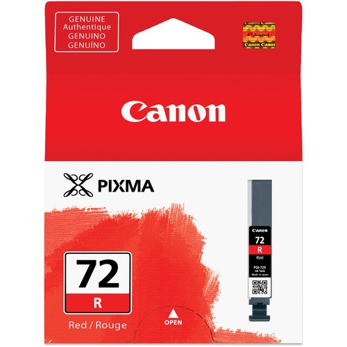 PGI-72R Ink Cartridge - Canon Genuine OEM (Red)