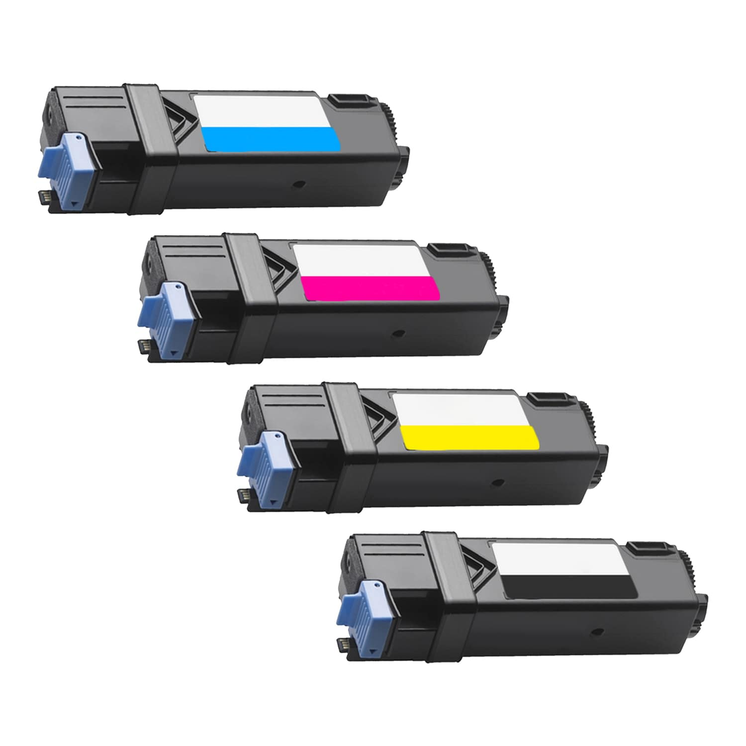 Compatible Dell 2150-2155 Toner High Capacity Pack - 4 Cartridges