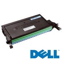 330-3792 Toner Cartridge - Dell Genuine OEM (Cyan)