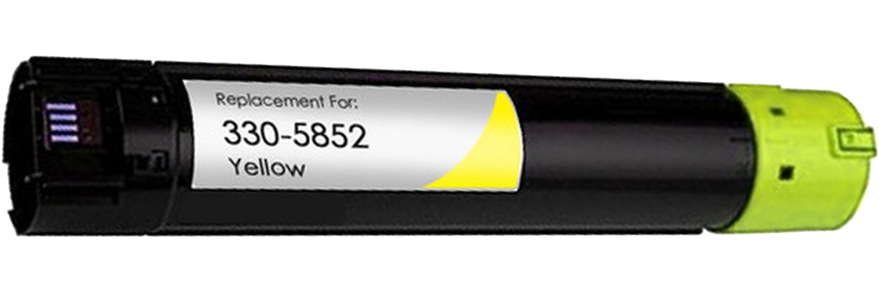 330-5852 Toner Cartridge - Dell Remanufactured (Yellow)