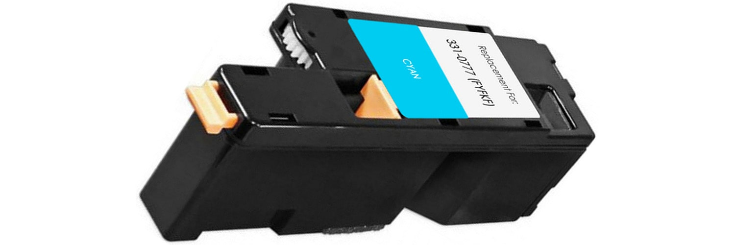331-0777 Toner Cartridge - Dell Compatible (Cyan)