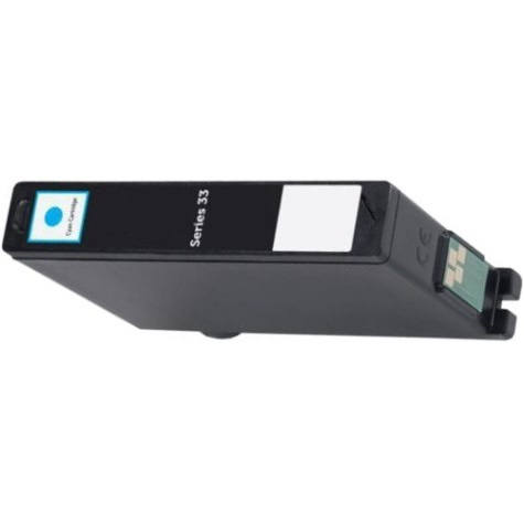 Series 33 Cyan Ink Cartridge - Dell Compatible (Cyan)