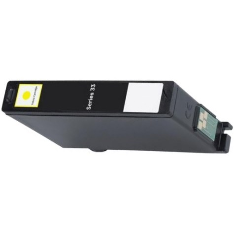 Series 33 Yellow Ink Cartridge - Dell Compatible (Yellow)