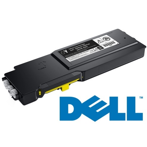 593-BBZY Toner Cartridge - Dell Genuine OEM (Yellow)