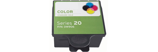 DW906 Ink Cartridge - Dell Compatible (Color)