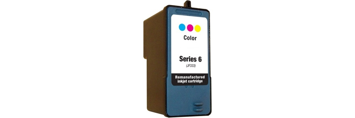 Series 6 Color Ink Cartridge - Dell Remanufactured (Color)
