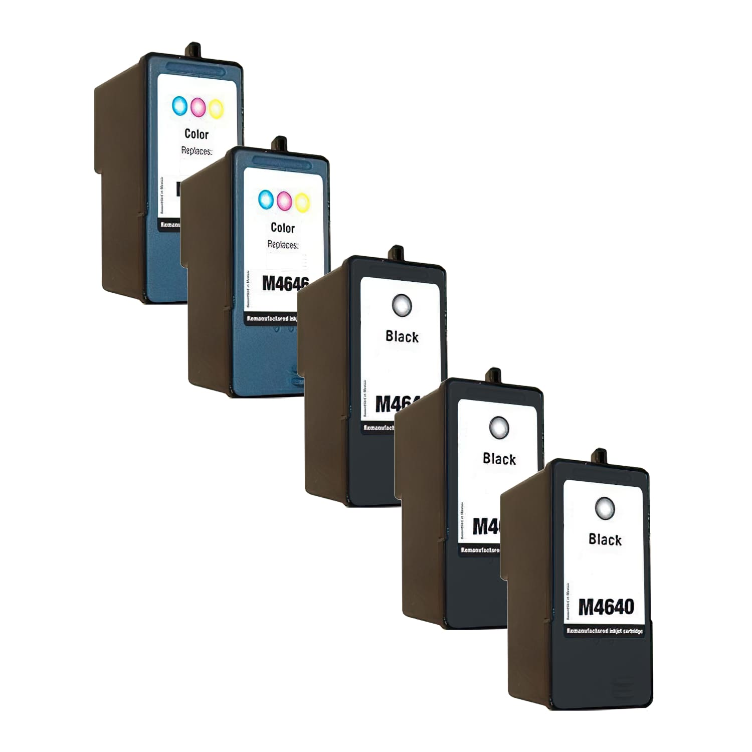 Remanufactured Dell Series 5 Inkjet High Capacity Pack - 5 Cartridges