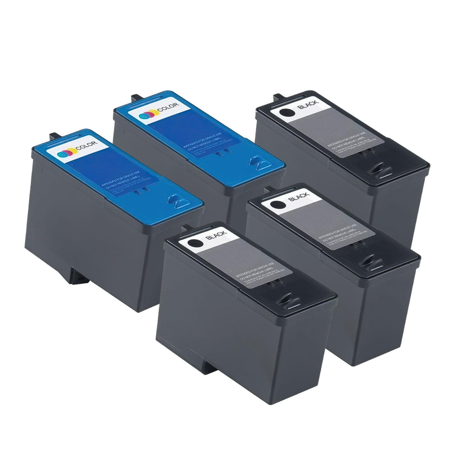 Remanufactured Dell Series 7 Inkjet High Capacity Pack - 5 Cartridges