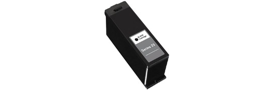 Series 23 Black Ink Cartridge - Dell Compatible (Black)