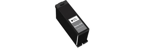 Series 24 Black Ink Cartridge - Dell Compatible (Black)