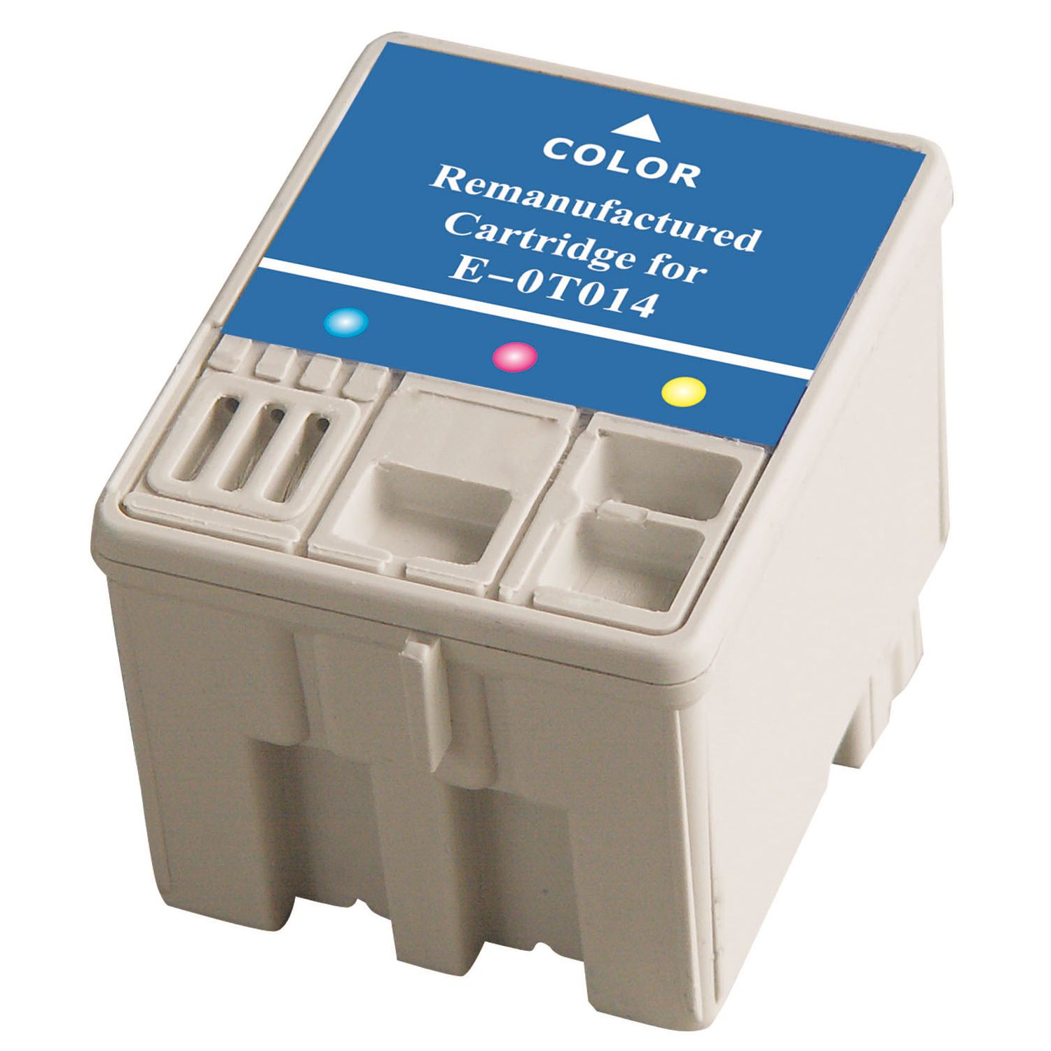 T014201 Ink Cartridge - Epson Remanufactured (Color)