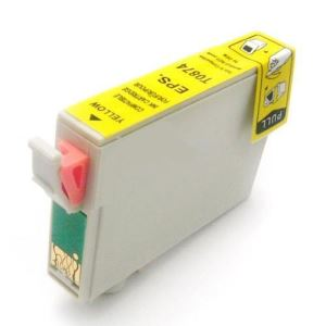 T087420 Ink Cartridge - Epson Remanufactured (Yellow)