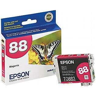 T088320 Ink Cartridge - Epson Genuine OEM (Magenta)