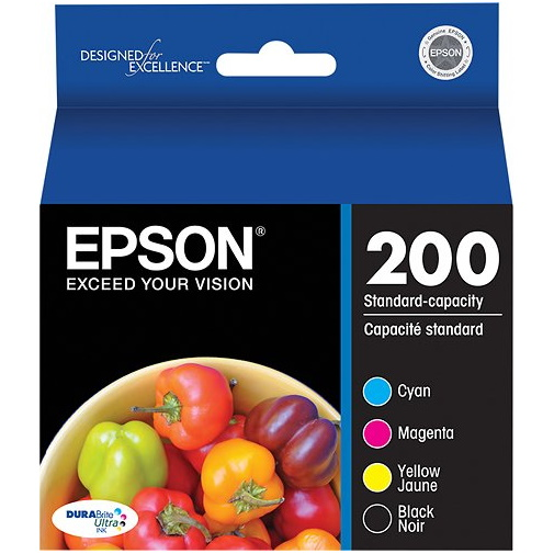 T200120-BCS Ink Cartridge - Epson Genuine OEM (Bundle Pack)