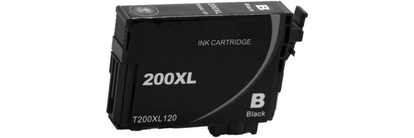 T200120XL Ink Cartridge - Epson Compatible (Black)