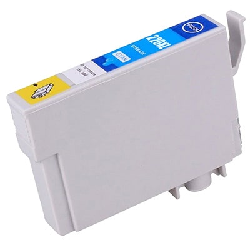 T220XL220 Ink Cartridge - Epson Remanufactured (Cyan)