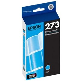T273220 Ink Cartridge - Epson Genuine OEM (Cyan)