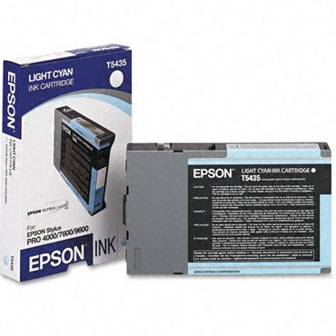 T543500 Ink Cartridge - Epson Genuine OEM (Light Cyan)