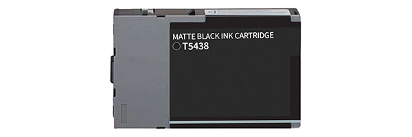 T543800 Ink Cartridge - Epson Remanufactured (Matte Black)