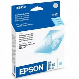 T559520 Ink Cartridge - Epson Genuine OEM (Light Cyan)