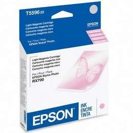 T559620 Ink Cartridge - Epson Genuine OEM (Light Magenta)