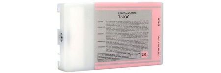 T603C00 Ink Cartridge - Epson Remanufactured (Light Magenta)