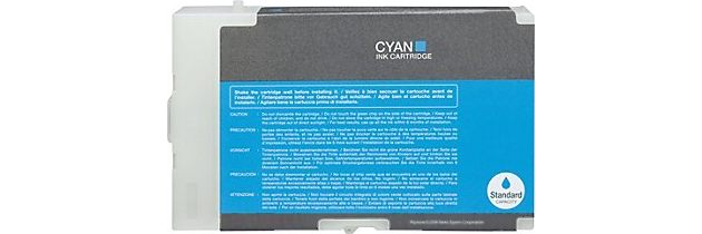 T616200 Ink Cartridge - Epson Compatible (Cyan)