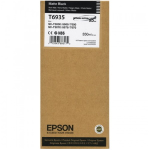 T693500 Ink Cartridge - Epson Genuine OEM (Matte Black)