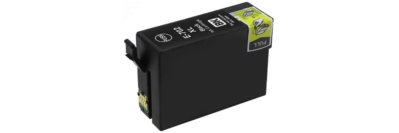 T702XL120 Ink Cartridge - Epson Remanufactured (Black)