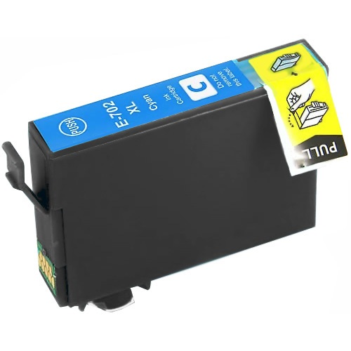 T702XL220 Ink Cartridge - Epson Remanufactured (Cyan)