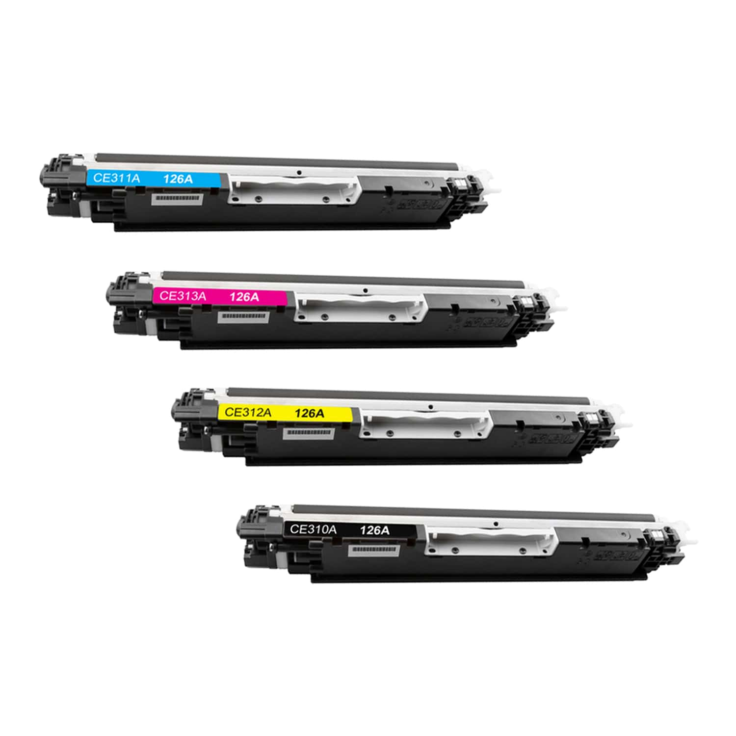 Remanufactured HP Toner Cartridge Bundlpack 126A CMYK Pack - 4 Cartridges